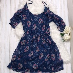 Hollister Floral Dress Size L